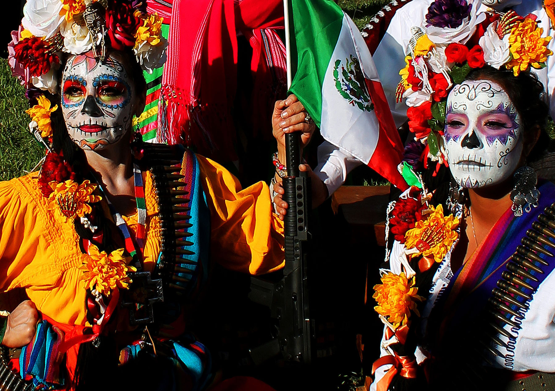 Photo: Dawn Burns. Title: Dia de los Muertos Observation